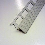 Transition carrelage sol, aluminium anodisé L.1 m x Ep.10 mm