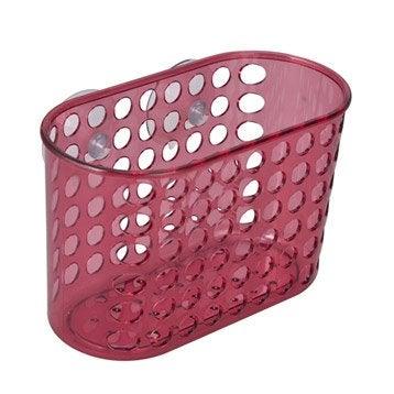 Etagère de bain / douche à ventouser, rose shocking 3, Play