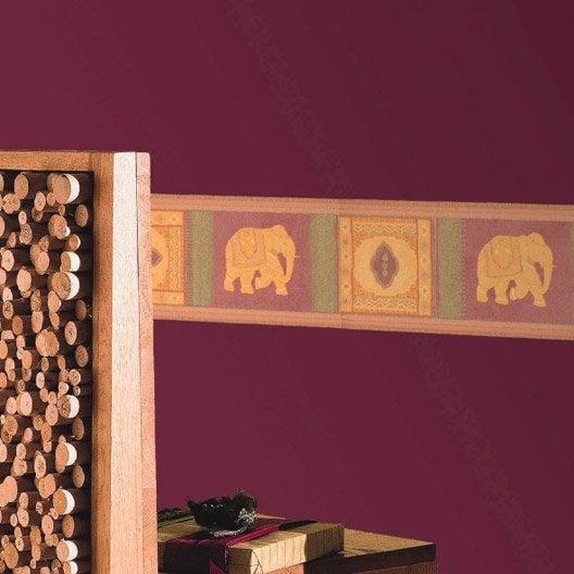 Frise vinyle adh sive el phant longueur 5 m leroy merlin - Leroy merlin frise adhesive ...