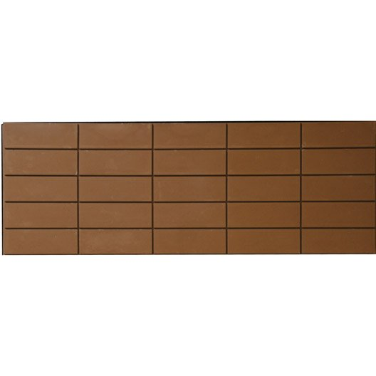 lot de 4 panneaux marron polyur thane thermart mm leroy merlin. Black Bedroom Furniture Sets. Home Design Ideas