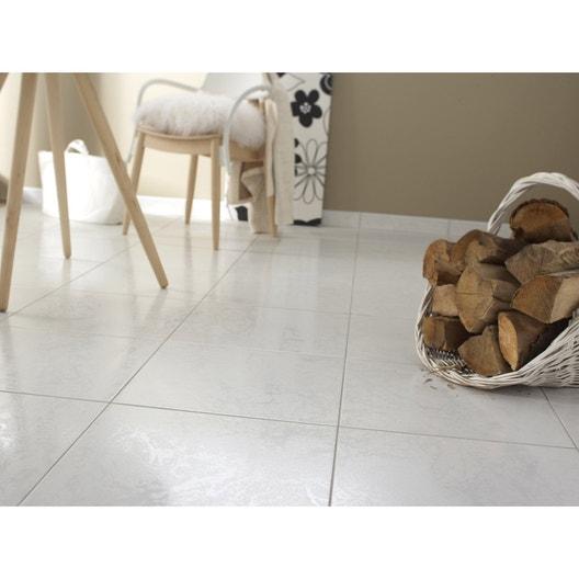 carrelage sol et mur blanc effet marbre polaire x l. Black Bedroom Furniture Sets. Home Design Ideas