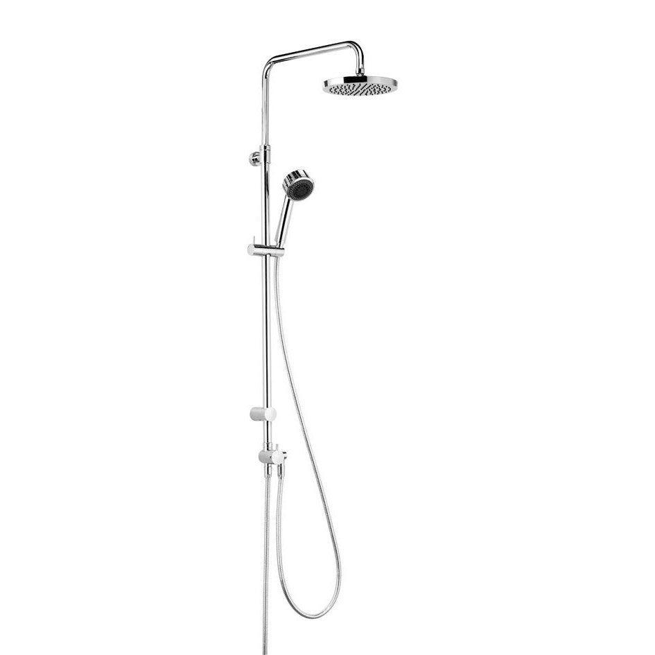 colonne de douche et bain sans robinetterie kludi zenta 2 jets leroy merlin. Black Bedroom Furniture Sets. Home Design Ideas