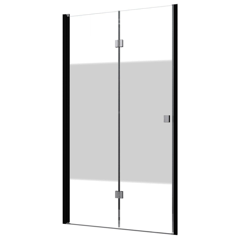 Porte De Douche Pivot-pliante 95 Cm, Sérigraphié, Neo