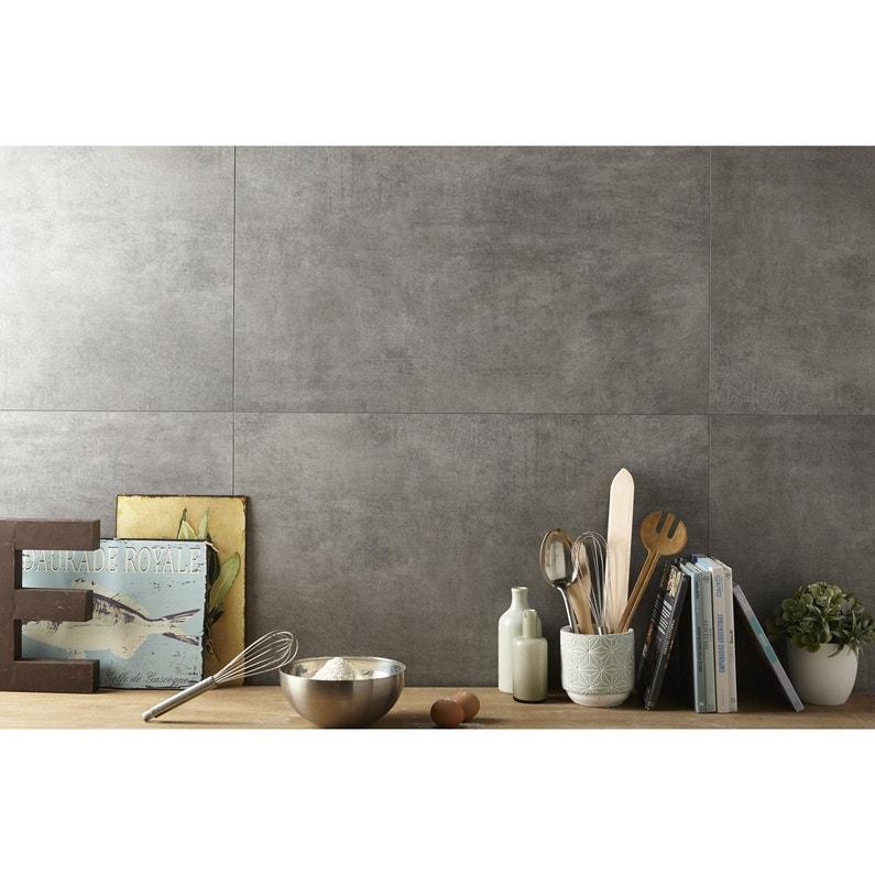 dalle murale pvc gris moyen dumawall x cm x ep 5. Black Bedroom Furniture Sets. Home Design Ideas