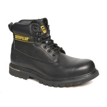 Chaussures de sécurité hautes CATERPILLAR Holton s3 bk, coloris noir T43