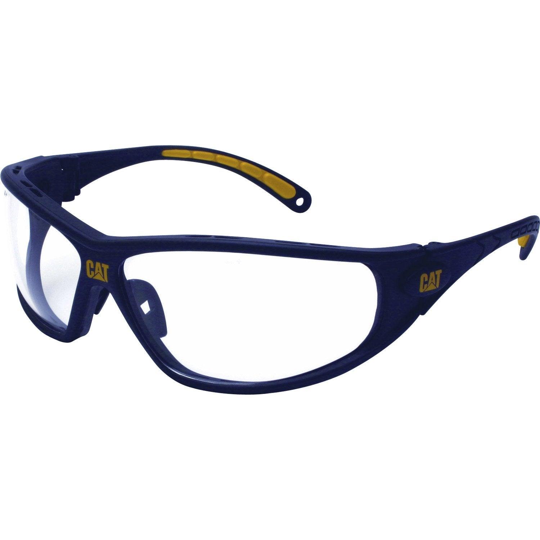 lunettes de haute protection caterpillar tread clear verre incolore leroy merlin. Black Bedroom Furniture Sets. Home Design Ideas