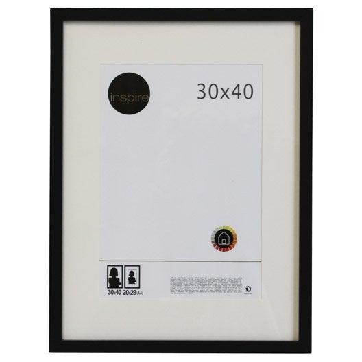 Cadre photo cadre stickers adh sif d coratif cadre miroir et affiche - Leroy merlin cadre bois ...