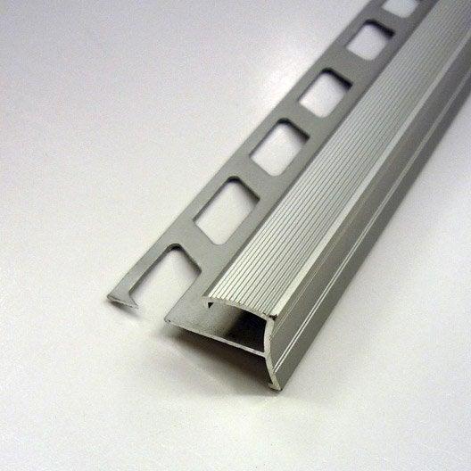 ndm alu anod 10mm l2.5m contemporain | leroy merlin