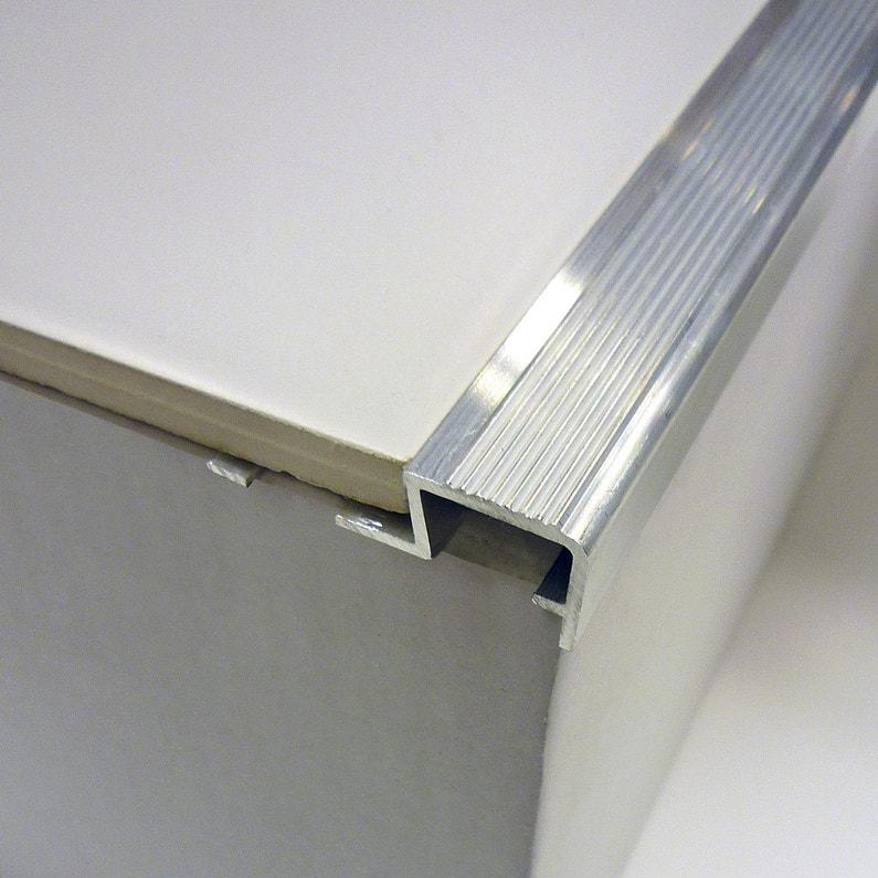 Nez De Marche Aluminium Brut