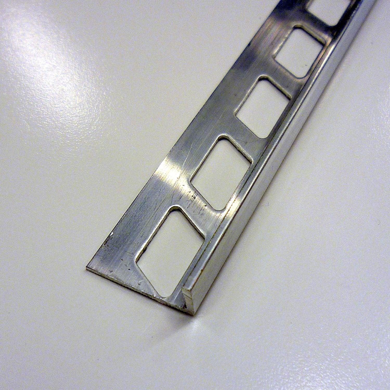 Equerre De Finition Carrelage Sol, Aluminium Brut L.2.5 M X Ep.10 Mm ...