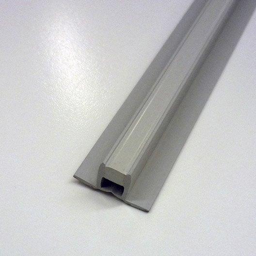 joint de dilatation fractionnement en pvc gris 2 5 m x 10 mm leroy merlin. Black Bedroom Furniture Sets. Home Design Ideas