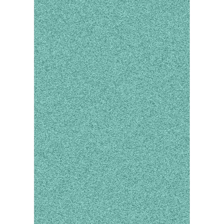 tapis bleu shaggy pop l60 x l115 cm - Tapis Vert D Eau