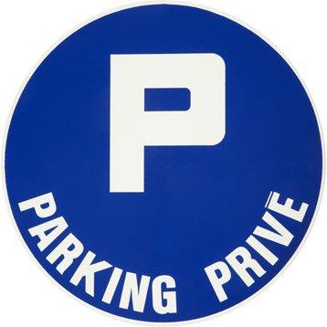 Disque parking privé en plastique