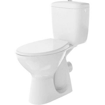 Wc poser wc abattant et lave mains toilette leroy - Lave main d angle leroy merlin ...