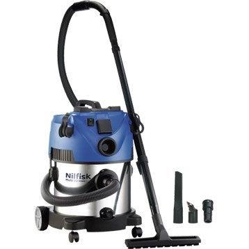 aspirateur eau et poussi res nilfisk multi 20t inox 20l 21kpa. Black Bedroom Furniture Sets. Home Design Ideas