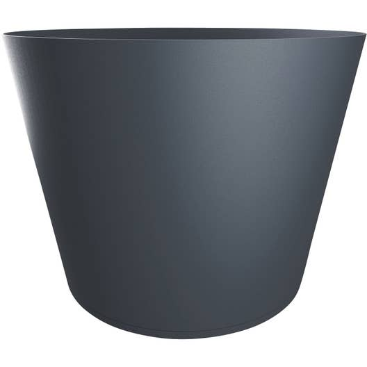 bac plastique grosfillex x cm anthracite. Black Bedroom Furniture Sets. Home Design Ideas