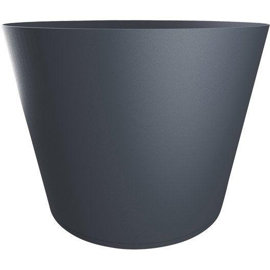 bac plastique grosfillex x cm anthracite leroy merlin. Black Bedroom Furniture Sets. Home Design Ideas