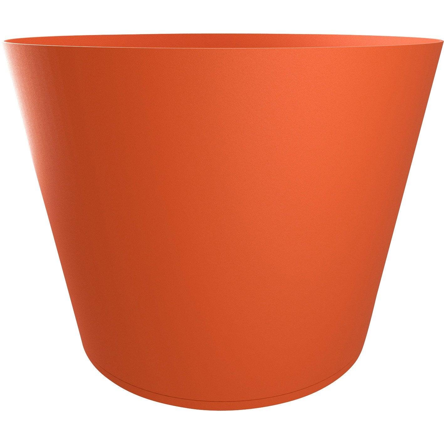 bac plastique grosfillex x cm orange br l leroy merlin. Black Bedroom Furniture Sets. Home Design Ideas
