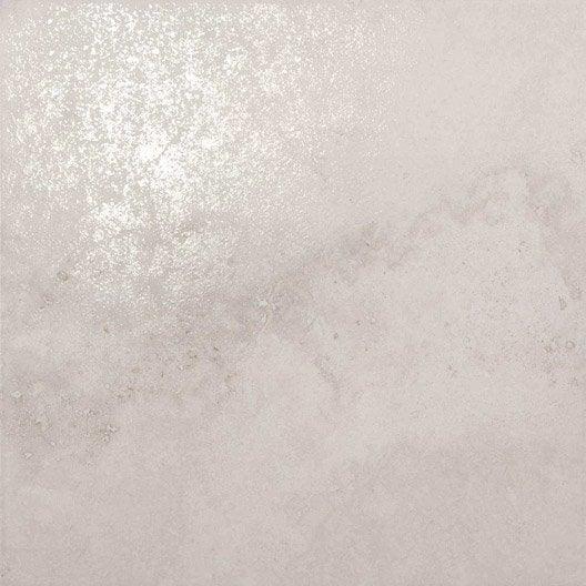Carrelage sol et mur taupe teos x cm leroy for Glissance carrelage