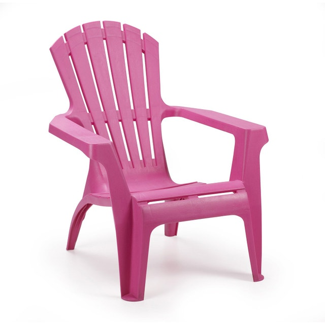 un fauteuil de jardin fuchsia r sistant aux intemp ries leroy merlin. Black Bedroom Furniture Sets. Home Design Ideas