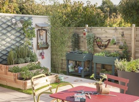 Des potagers pour décorer votre espace extérieur