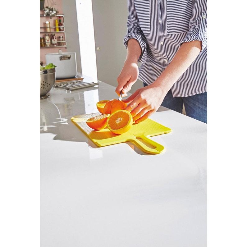 Planche à Découper En Plastique Pliable Jaune Anis N 4