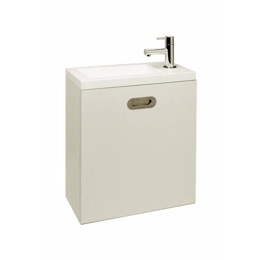 meuble lave mains blanc blanc n 0 x x. Black Bedroom Furniture Sets. Home Design Ideas