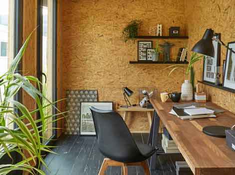 Une pièce à vivre au jardin avec décor home ! leroy merlin
