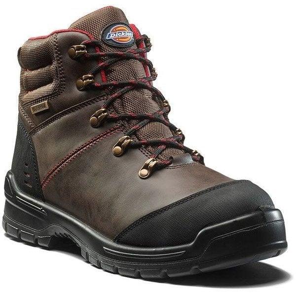 Chaussures de sécurité hautes DICKIES Fc9535 br 7, coloris marron T41