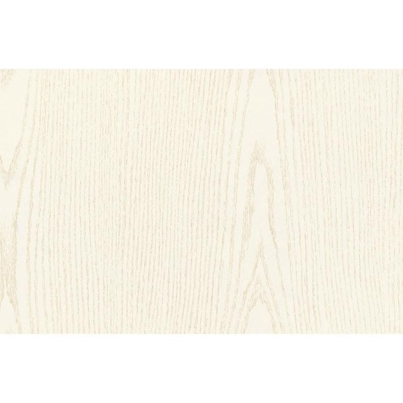 Adhésif Décoratif D C Fix Bois Nacre Blanc L09 X L15 M