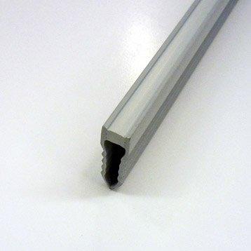Joint de dilatation et fractionnement sol, pvc L.2.5 m x Ep.30 mm