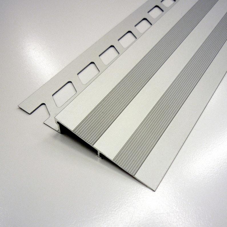 Rampe Daccès Sol Aluminium Anodisé L25 M X Ep10 Mm