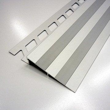 Rampe d'accès sol, aluminium anodisé L.2.5 m x Ep.10 mm