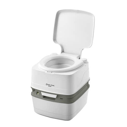 Fonctionnement Wc Chimique dedans toilette chimique campa potti qube | leroy merlin