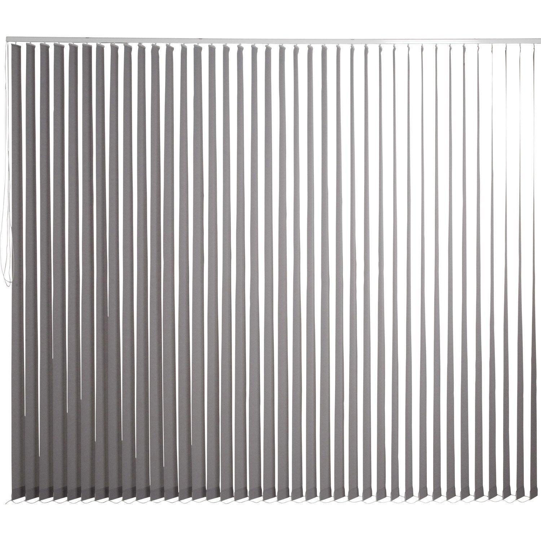 kit rail lamelles verticales orientables gris galet n 3 inspire 300 x 260 cm leroy merlin. Black Bedroom Furniture Sets. Home Design Ideas