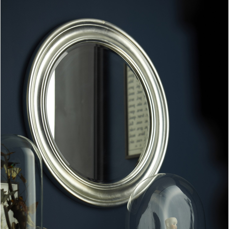 miroir daventry rond argent l 53 6 x h 53 6 cm Résultat Supérieur 16 Beau Gros Miroir Rond Pic 2017 Gst3