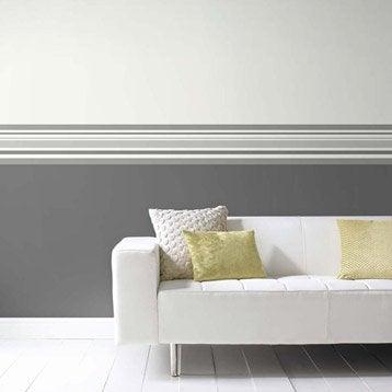Frise vinyle papier rayure longueur 5 m - Frise murale leroy merlin ...