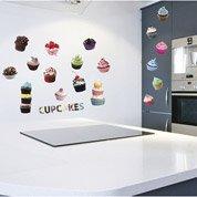Sticker Cup cakes 50 cm x 70 cm