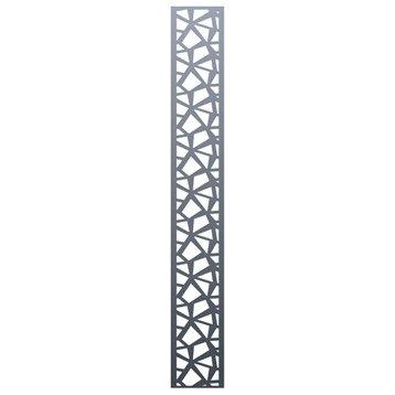Décor en aluminium Mix-it! l.24 x H.150 cm