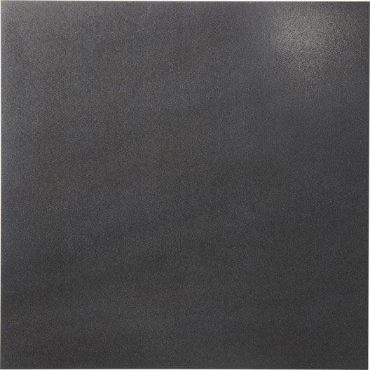 Carrelage sol et mur noir effet pierre starlight x l for Glissance carrelage