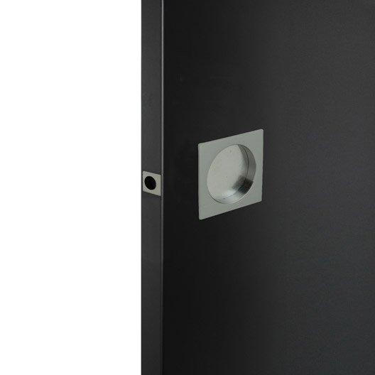 poign e de porte coulissante doigtier porte coulissante au meilleur prix leroy merlin. Black Bedroom Furniture Sets. Home Design Ideas