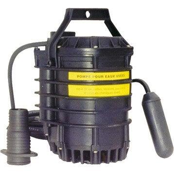 Pompe vide-cave eau chargée TECNOMA Ktp 500 9000 l/h