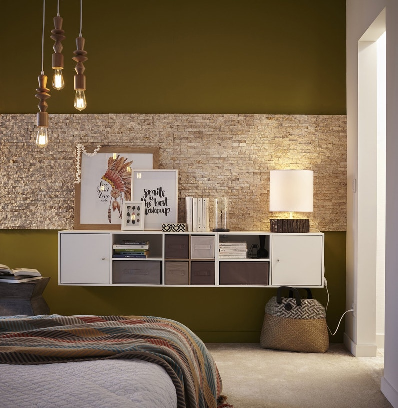 les parements m tamorphosent vos murs. Black Bedroom Furniture Sets. Home Design Ideas