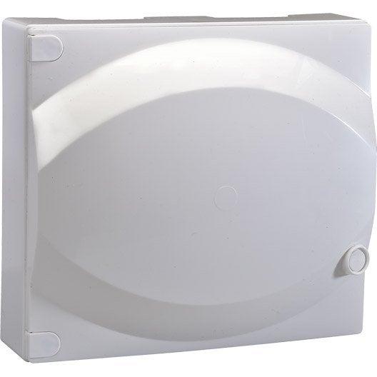 Porte pour tableau lectrique abb 1 rang e 13 modules - Conteur d abonne ...