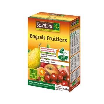 Engrais potagers SOLABIOL 1,5kg 30 m²