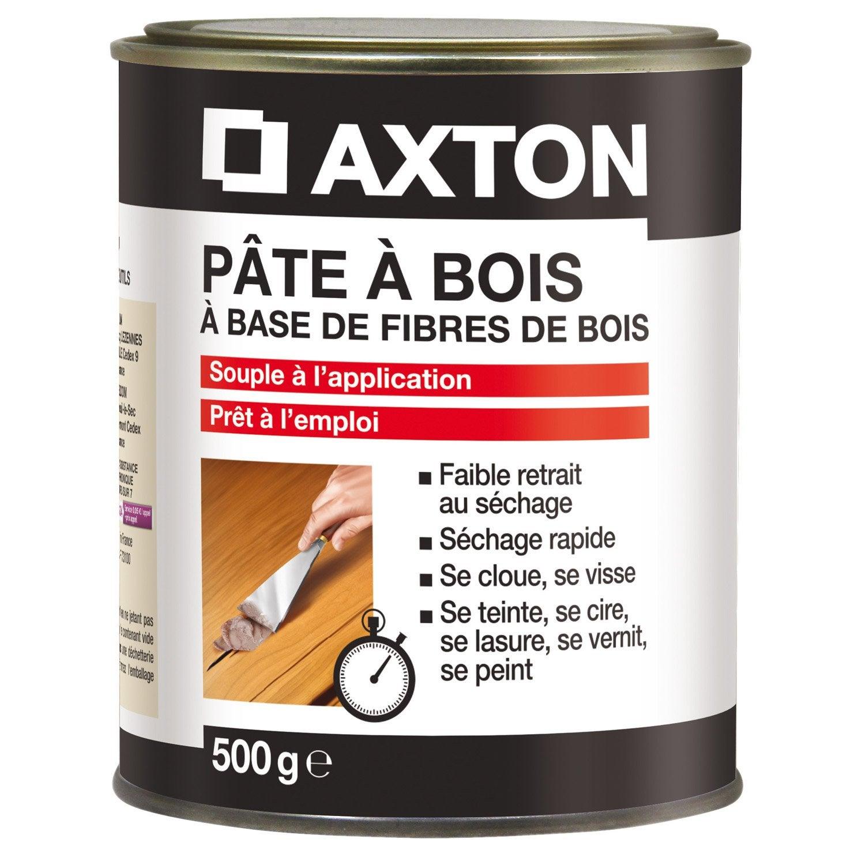 Captivating Pâte à Bois AXTON, Blanc, 500