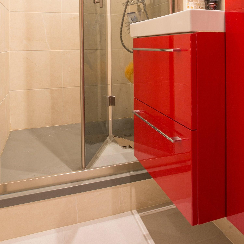 On ose le rouge dans la salle de bains | Leroy Merlin