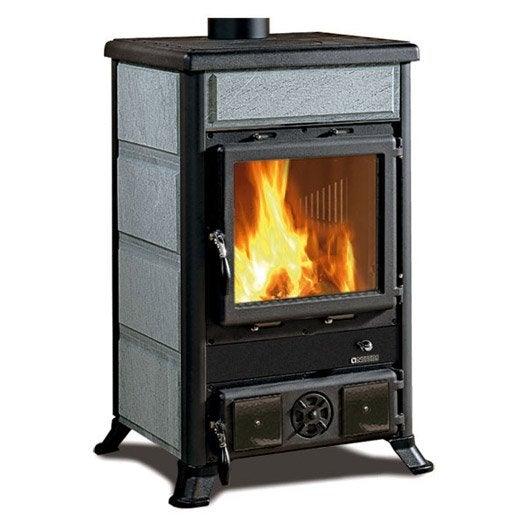 po le bois nordica rosella pierre ollaire 8 8 kw leroy merlin. Black Bedroom Furniture Sets. Home Design Ideas