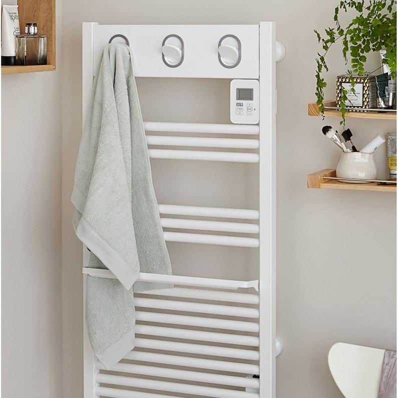 Sèche Serviettes électrique à Inertie Fluide Sauter Marapi Blanc Blanc 500w