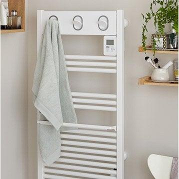 Sèche-serviettes électrique à inertie fluide SAUTER Marapi 500 W